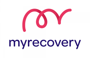 image of the myrecovery logo
